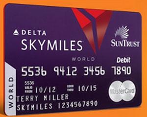SkyMiles World Debit Card